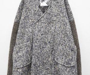 coat, fashion, and gray image
