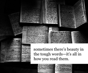 books, deep, and quotes image