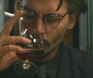 johnny depp, cigarette, and grunge image
