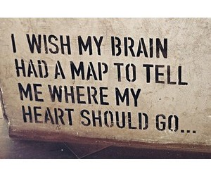 quotes, heart, and map image