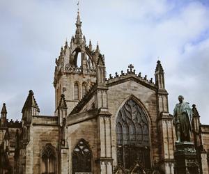 architecture, edinburgh, and glamour image