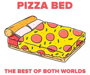 pizza bed image