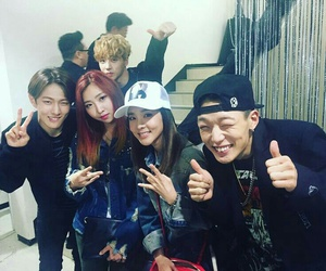 Ikon, 2ne1, and minzy image