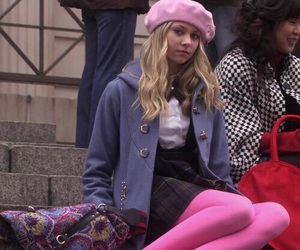 gossip girl and jenny humphrey image