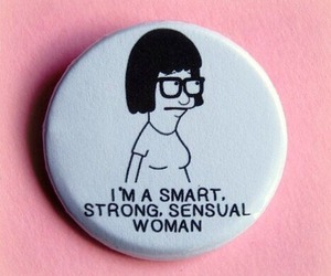 woman, pink, and bobs burgers image