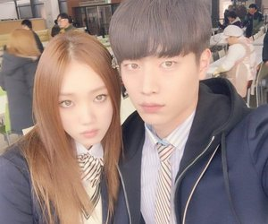 cheese in the trap, seo kang joon, and lee sung kyung image