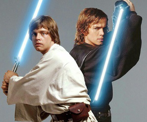 LUke, jedi, and anakin image