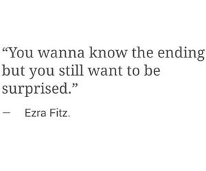 quote, ezra fitz, and pretty little liars image