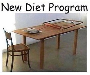diet, funny, and lol image