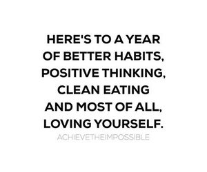 loving yourself, work, and better habits image