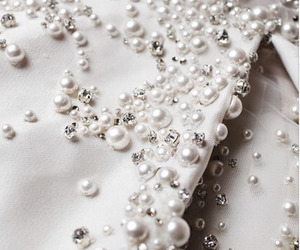 pearls, fashion, and white image