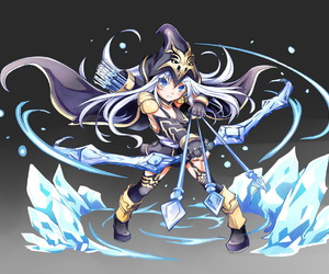 lol and ashe image