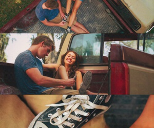 mileycyrus, liamhemsworth, and thelastsong image
