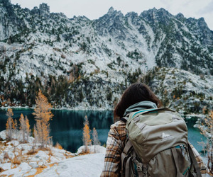 adventure, camping, and snow image