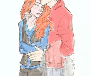 fan art, harry potter, and ginny weasley image