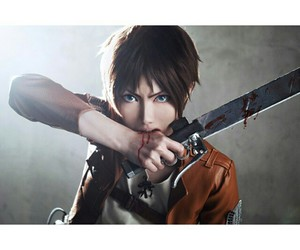 cosplay, snk, and cosplayer image
