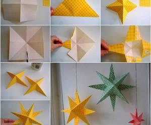 diy, Paper, and stars image