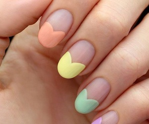 nails, pastel, and beautiful image