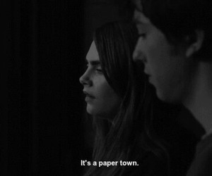 paper towns, movie, and quote image