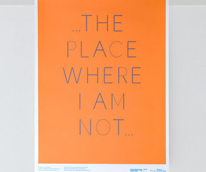 letters, orange, and place image