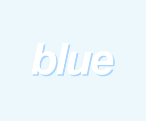 aesthetic, blue, and minimal image