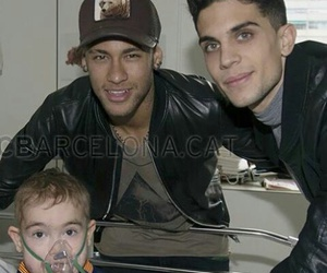 neymar, marc bartra, and fc barcelona image