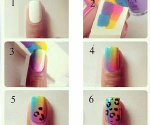 nails, nail art tutorial, and nails fashion image