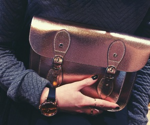 bag, details, and rosegold image