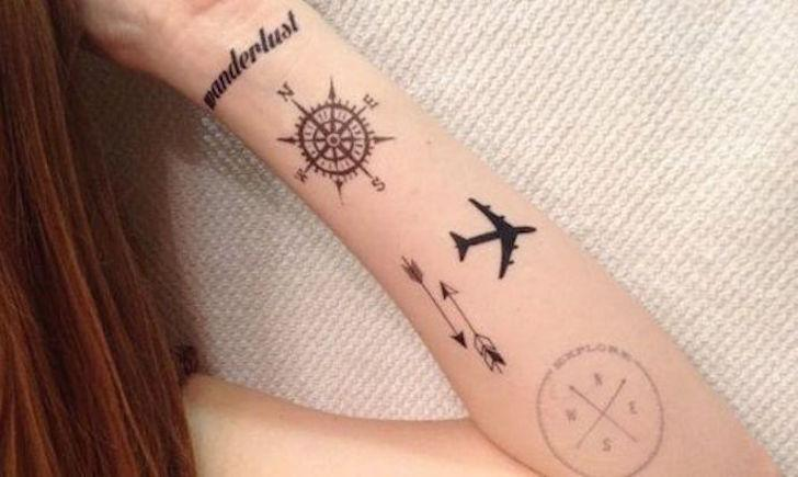 Wanderlust tattoo pesquisa google on we heart it voltagebd Image collections