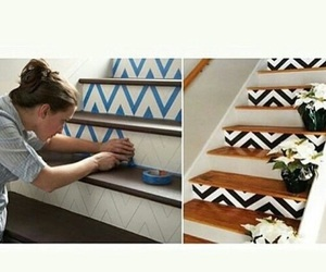 diy, home, and stairs image