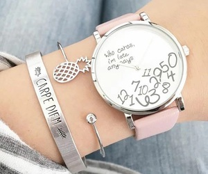 pink and clock image