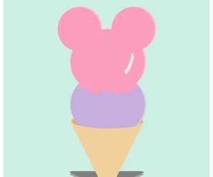 disney, mickey mouse, and ice cream image