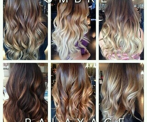 beauty, hairstyle, and ombre image