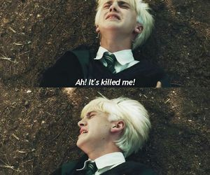 draco malfoy and harry potter image