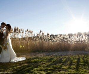 boy, bride, and field image