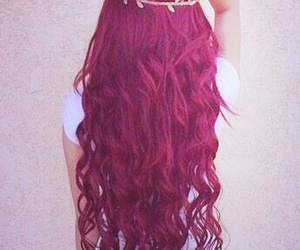 beautiful, red hair, and curls image