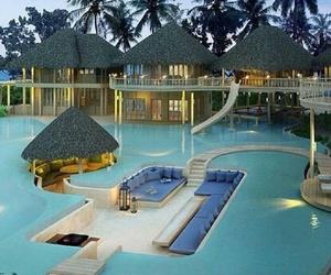 house, paradise, and beautiful+ image
