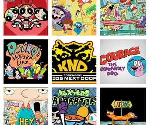 cow & chicken, hey arnold, and ppg image