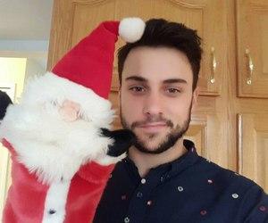 beautiful, christmas, and smile image