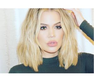 khloe kardashian, kardashian, and blonde image