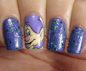 disney, dopey, and glitter image
