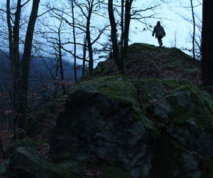 adventure, dark, and nature image