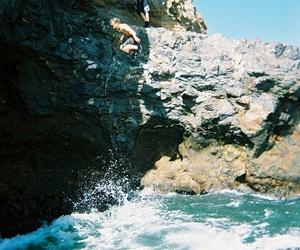 summer, boy, and sea image