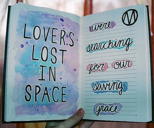space, quotes, and tumblr image