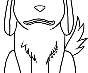 art, drawing, and how to draw akamaru image