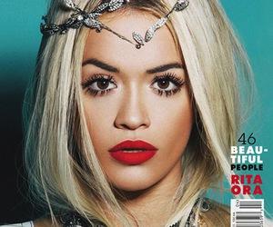 rita ora, magazine, and makeup image