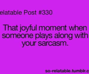 sarcasm, lol, and moment image