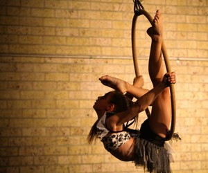 circus, contortion, and hoops image
