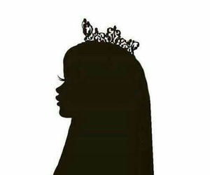 Queen, princess, and crown image