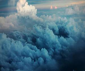 blue, clouds, and photo image